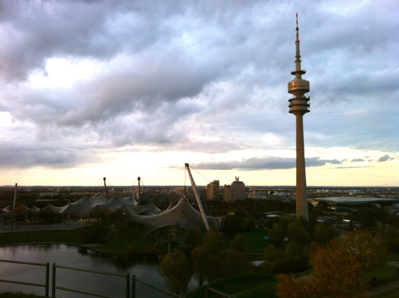 View from the Olympiaberg