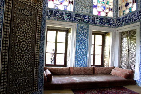 Palatial quarters in Topkapi