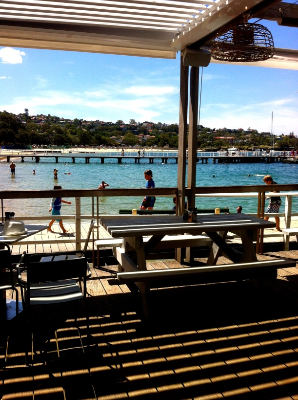 Lunch with a view at The Boathouse